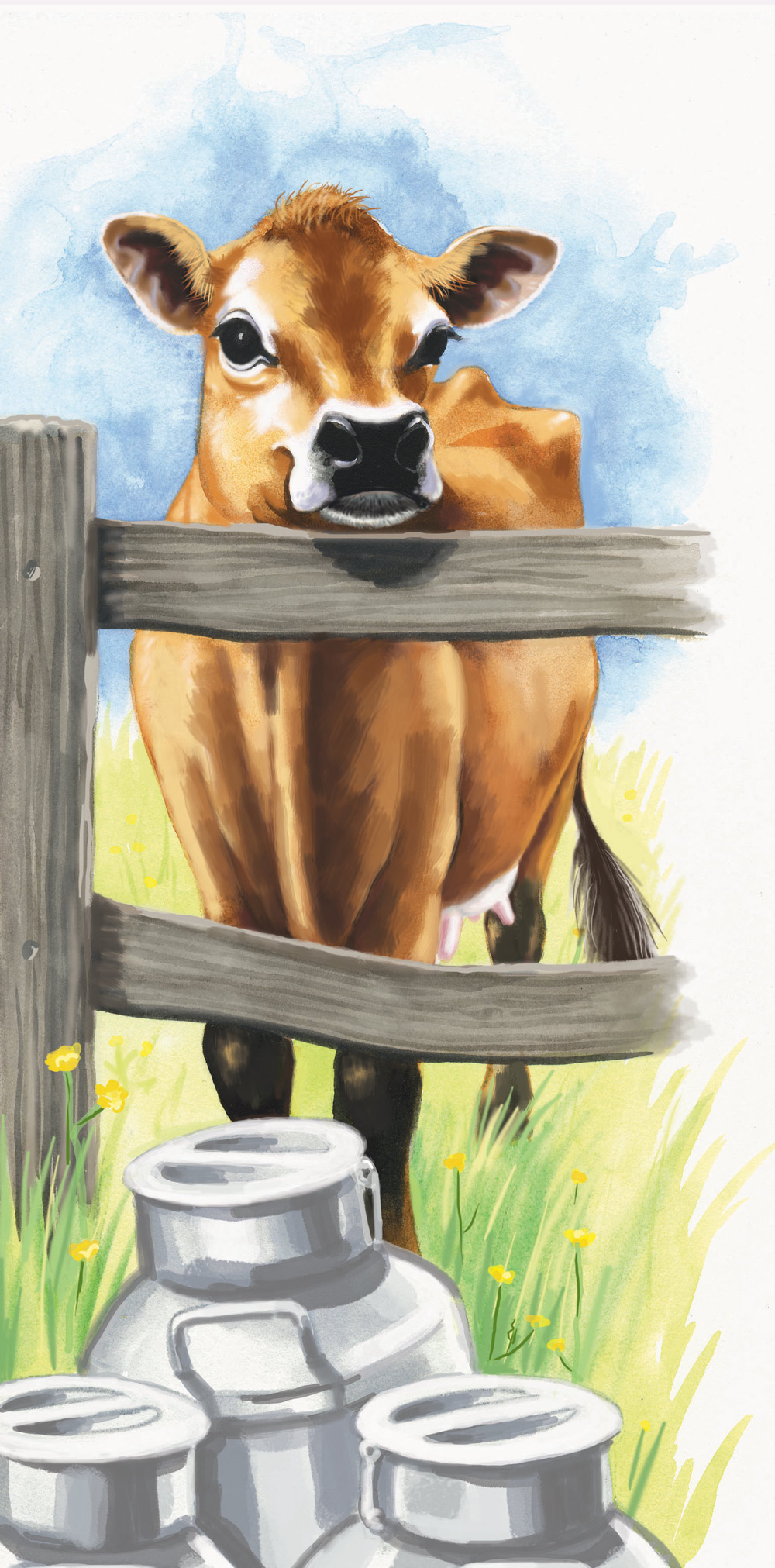 Country Life-Jersey Cow-web copy